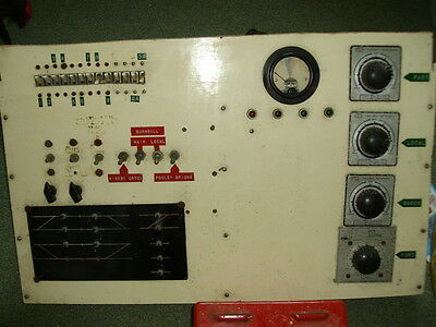 Large Model Railway Control Board With A Vab Battery Charger