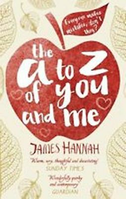 The A to Z of You and Me, Hannah, James, New Book