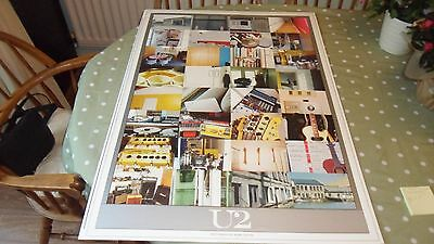 U2.adam Clayton Photography Lithograph Poster Mint