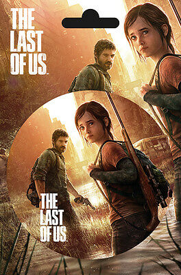 Vinyl Sticker / Aufkleber THE LAST OF US - Key Art - Game - ca9cm NEU SK0385