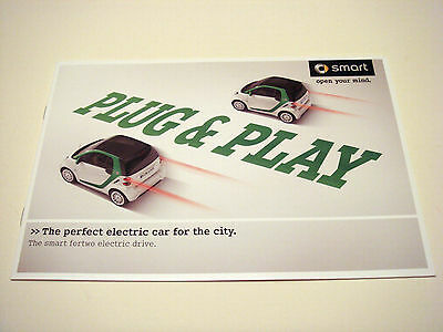 Smart . fortwo . Smart fortwo Electric Drive . 2011  Sales Brochure