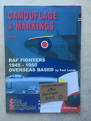 Camouflage & Markings No.5 - RAF Fighters 1945-1950 (Overseas Based) - SUPERB!