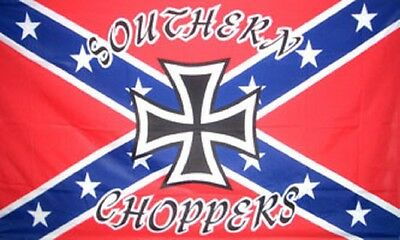 Rebel Southern Choppers 5'x3' Flag