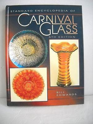 Carnival Glass 5th Edition By Bill Edwards - 352 Pages All In Color, EC