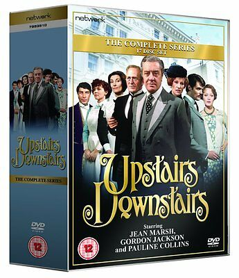 UPSTAIRS DOWNSTAIRS - The Complete Series.17-Disc DVD Box Set.