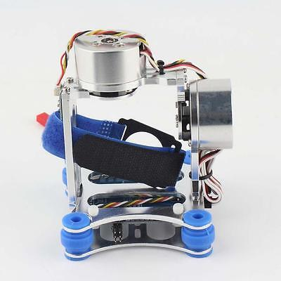 CNC Brushless Gimbal Camera Mount w/ Motor & Controller FPV PTZ for Gopro DJIFFa