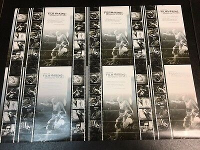 United States American Film Making Master Uncut Sheet Of Six Sheets Of 10 Mint