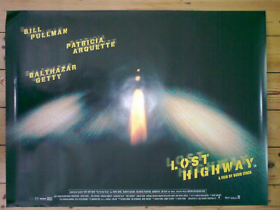 LOST HIGHWAY - MINT condition - Original UK Quad D/S Cinema Poster DAVID LYNCH