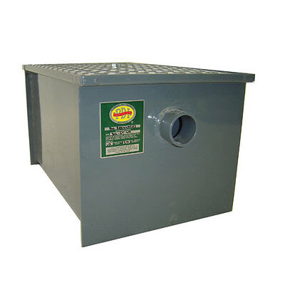 Bk Resources 100 Lb Grease Trap Interceptor 50 Gallons Per Minute - Bk-Gt-100