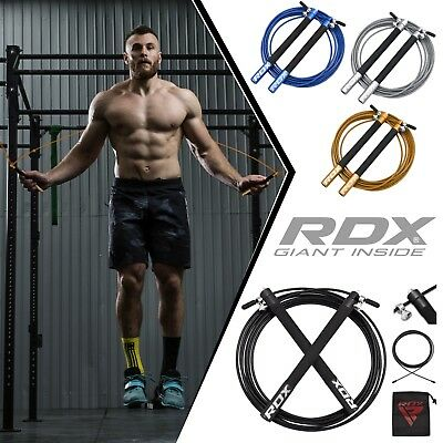 RDX Skipping Speed Rope Fitness Exercise Jumping Steel Cable Crossfit Boxing