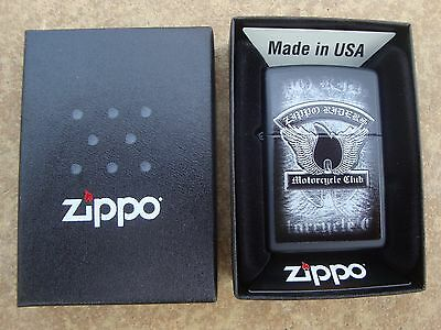 Zippo Lighter ...(2016) ...motorcycle .. Brand New ... Free Postage