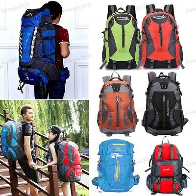 Factory Promote 40-80L Waterproof Travel Backpack Camping Hiking Rucksack Bag FG