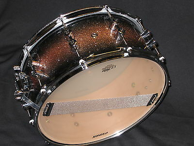 """Snare Drum SONOR Select Force 14 x 5.5"""" , brown galaxy sparkle , NEU"""