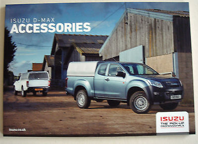 Isuzu . D- Max.  Accessories . Sales Brochure