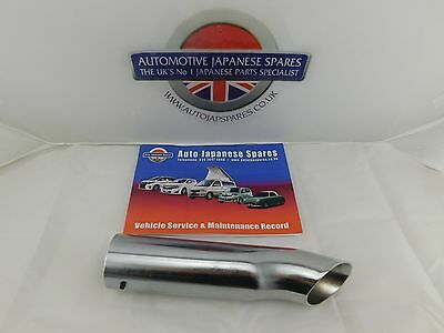 Mazda Bongo 1995-2002 Rear Chrome End Pipe Fits All  & Free Service Booklet