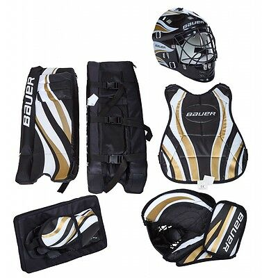 "Bauer- Recreational Streethockey Goalie Set 23"", 5tlg. Hockey. Einsteiger Set."