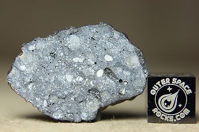 NWA 10973 Lunar Feldspathic Regolith Breccia Meteorite from the Moon 3.39 grams