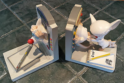 Pinky & the Brain Bookends Warner Bros Animaniacs store exclusive FREE SHIPPING
