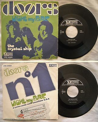 45 Doors - Light My Fire - The Crystal Ship - Anno 1967 - Vrn 34081