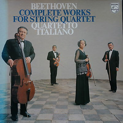 6747 272 Beethoven Complete Works For String Quartet / Quartetto Italiano 10 ...