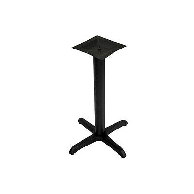 "BK Resources BK-BXTB2-2430 24"" x 30"" Bar Height 2 Piece Cast Iron Table Base"