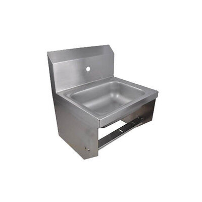 "BK Resources BKHS-W-1410-1-BKK 14""W Wall Mount Hand Sink without Faucet"