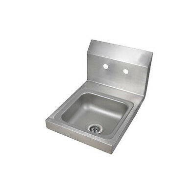 BK Resources BKHS-W-SS Space Saver Wall Mount Hand Sink without Faucet