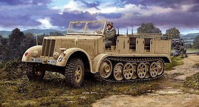 Sd.Kfz. 7 German Army Half-track 1/72 scale skill 3 Revell model kit#3186