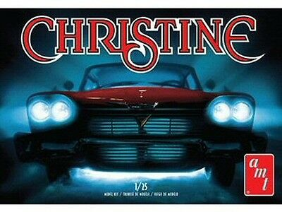 """1958 Plymouth """"Christine"""" 1/25 scale skill 2 AMT plastic model kit#801"""