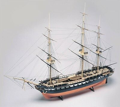 USS Constitution Old Ironsides Tall Ship 1/96 scale skill 3 Revell kit#0398