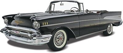 1957 Chevy Convertible 1/25 scale skill 3 Revell model kit#4270