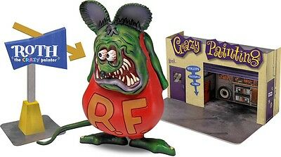 Rat Fink with Diorama 1/25 scale skill 2 Revell plastic model kit#6732