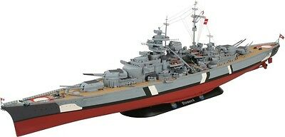 German Battleship BISMARCK WW2 1/350 scale skill 5 Revell plastic model kit#5040