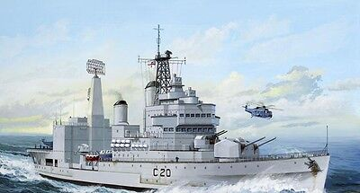 Revell 1/700 H.M.S. Tiger Helicopter Cruiser skill 3 plastic model kit#5116