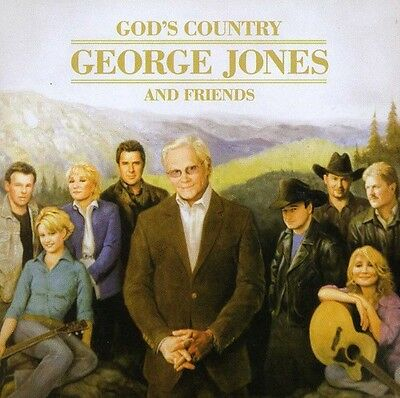 Various Artists, George Jones & Friends - God's Country [New CD]