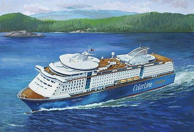 MS Color Magic Ferry/Cruise ship 1/1200 scale skill 4 Revell model kit#5818