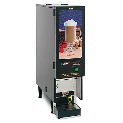 Bunn FMD-1-0196 Hot Beverage Dispenser with 1 Hopper Black