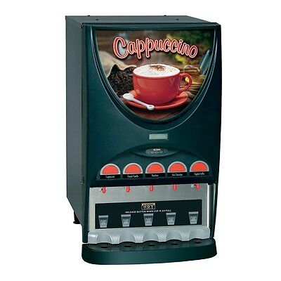 Bunn IMIX-5-0000 Cappuccino Beverage Dispenser with 5 Hoppers