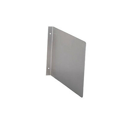 BK Resources BKHS-SSW1410 Stainless Steel Side Splash for Wall Mount Hand Sink