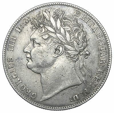 1824 Halfcrown - George Iv British Silver Coin - Nice