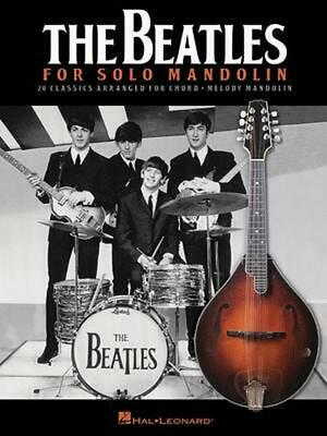 The Beatles for Solo Mandolin by Paperback Book (English)