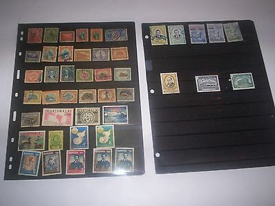 GUATEMALA Great Lot of Stamps Removed from Albums Nov28GUA