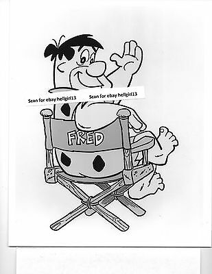 FLINTSTONES TV HANNA-BARBERA CARTOON #10 ORIGINAL VINTAGE glossy b&w movie photo