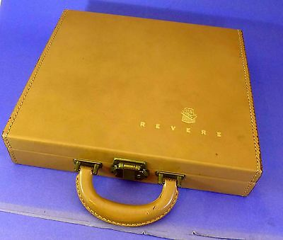 Beautiful REVERE case for storing stereo viewer & slides - RARE!