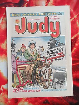 Judy Comic. 31  Dec 1983. New Year Issue. Unsold Newsagent Stock. Nr Mint/mint