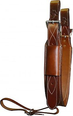 """3"""" Wide Medium Oil Rear Girth or Flank Cinch With Billets New Horse Tack"""