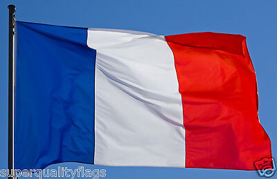 FRANCE FRENCH FLAG NEW 3x5 ft better qualityUSA seller