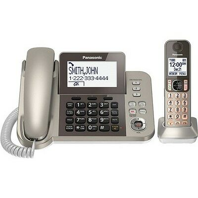 Panasonic Dect 6.0 Corded Cordless Digital Phone With Answering Machine NEW