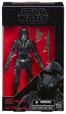 "Star Wars Rogue One Black Series 6"" Inch Imperial Death Trooper Figure #25"