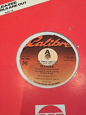 """Sleazee - The Girls Are Out Orig 12"""" Boogie Exc"""